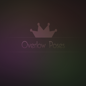new logo overlow poses